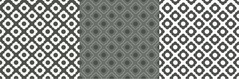 Graues weiße Zellmuster vektor abbildung