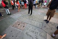 Grauman的中国剧院,好莱坞,洛杉矶,美国 图库摄影