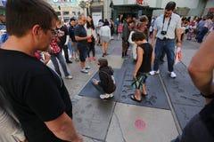 Grauman的中国剧院,好莱坞,洛杉矶,美国 免版税库存照片