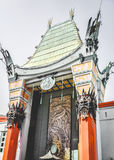 Grauman& x27; театр s китайский на бульваре Голливуда Стоковые Фотографии RF