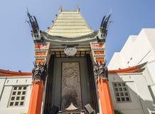 Grauman` s Chinees Theater bij Hollywood-Boulevard op 11 Augustus, 2017 - Los Angeles, CA Stock Afbeeldingen