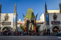 Grauman`s Chinese Theater on Hollywood Boulevard - Los Angeles, California, USA Stock Image