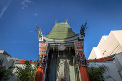 Grauman`s Chinese Theater on Hollywood Boulevard - Los Angeles, California, USA. LOS ANGELES, USA - January 07, 2017: Grauman`s Chinese Theater on Hollywood stock image