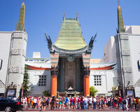 Grauman's Chinese Theater LA Royalty Free Stock Images