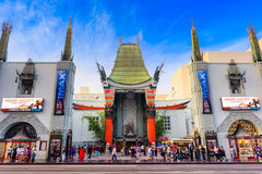 Grauman's Chinese Theater Royalty Free Stock Photography
