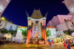 Grauman's Chinese Theater Royalty Free Stock Images