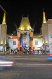 Grauman's Chinese Theatre. On Hollywood Boulevard stock image
