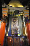 Grauman's Chinese Theatre. On Hollywood Boulevard stock images