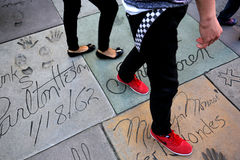 Grauman's chinese theatre, Hollywood, Los Angeles, usa Stock Photography