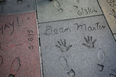Grauman's chinese theatre, Hollywood, Los Angeles, usa Stock Image
