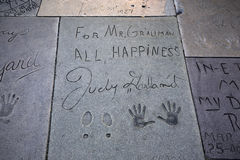 Grauman's chinese theatre, Hollywood, Los Angeles, usa Stock Photo