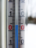 4 graus Célsio Fotografia de Stock