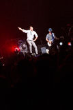 98 graus de concerto em Montreal Fotos de Stock Royalty Free