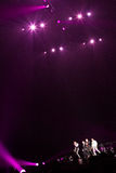 98 graus de concerto em Montreal Fotos de Stock
