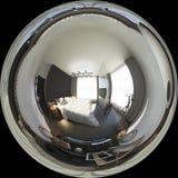 graus esféricos da ilustração 3d 360, panorama sem emenda do bedr Fotos de Stock Royalty Free