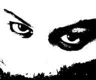 Grausamer Blick Lizenzfreies Stockbild