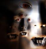 Grausigkeit-Gesicht 66 lizenzfreies stockfoto