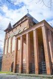 Grav av den tyska filosofen Immanuel Kant i domkyrkan av Koenigsberg royaltyfri foto