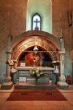 Grav av Stephen storen i den Putna kloster Fotografering för Bildbyråer