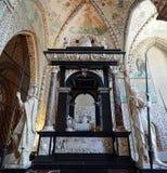 Grav- monument av kristen III av Cornelis Floris fotografering för bildbyråer