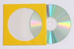 Gravação de dados do CD Fotos de Stock Royalty Free