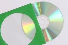 Gravação de dados do CD Imagem de Stock