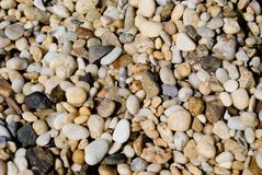 Grava de la playa Imagen de archivo libre de regalías