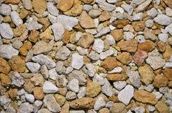 Grava de Limestome Foto de archivo libre de regalías