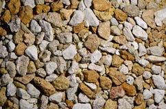 Grava de Limestome Imagen de archivo libre de regalías