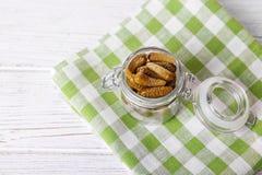 gravade gurkor Begreppet är sund mat Arkivfoton