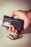 Gravador de cassetes Foto de Stock