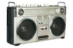 Gravador de cassetes de rádio do vintage Fotos de Stock Royalty Free