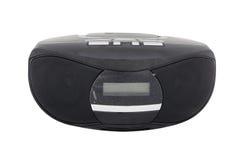 Gravador de cassetes do rádio portátil com o jogador CD/MP3 Imagem de Stock Royalty Free