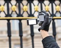 Gravador de vídeo imagem de stock