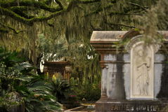 Gravar av Bonaventure Cemetery Royaltyfria Bilder