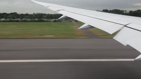 Gravar el aeroplano almacen de video