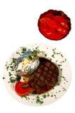 gravar steak Royaltyfri Foto