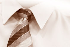 Gravata e camisa Fotografia de Stock
