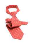 Gravata vermelha fotografia de stock