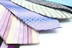 Gravatas da cor da variedade Imagens de Stock