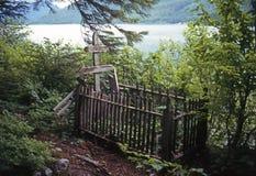 Grave Stock Photo