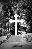 Grave alone Stock Photos