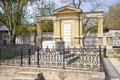 Grave of artist Ivan Aivazovsky. 1900 year Stock Photography