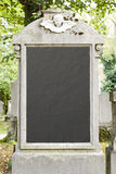 Grave background Stock Image
