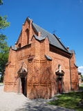 Grave chapel in Piotrawin, Poland Royalty Free Stock Images