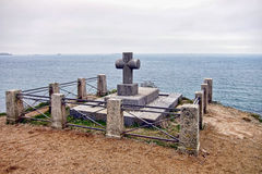Grave of Chateaubriand in Brittany France Stock Image