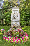 Grave of composer Franz Schubert  in  Cemetery in Vienna Royalty Free Stock Photos