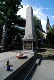 Grave Composer Smetana, Prague, Vysehrad, Czech Republic Royalty Free Stock Images