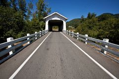 Grave Creek Bridge Royalty Free Stock Image