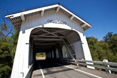 Grave Creek Bridge Royalty Free Stock Photo